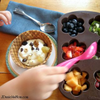 Kid-Made Mothers Day Breakfast Sundae from JDaniel4's Mom at B-InspiredMama.com
