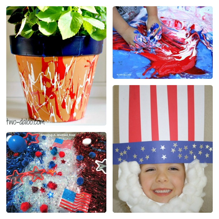 18 Patriotic Activities from The PLAY Group at B-InspiredMama.com