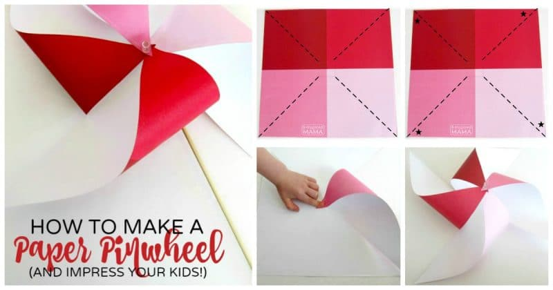 how to make a pinwheel and impress your kids