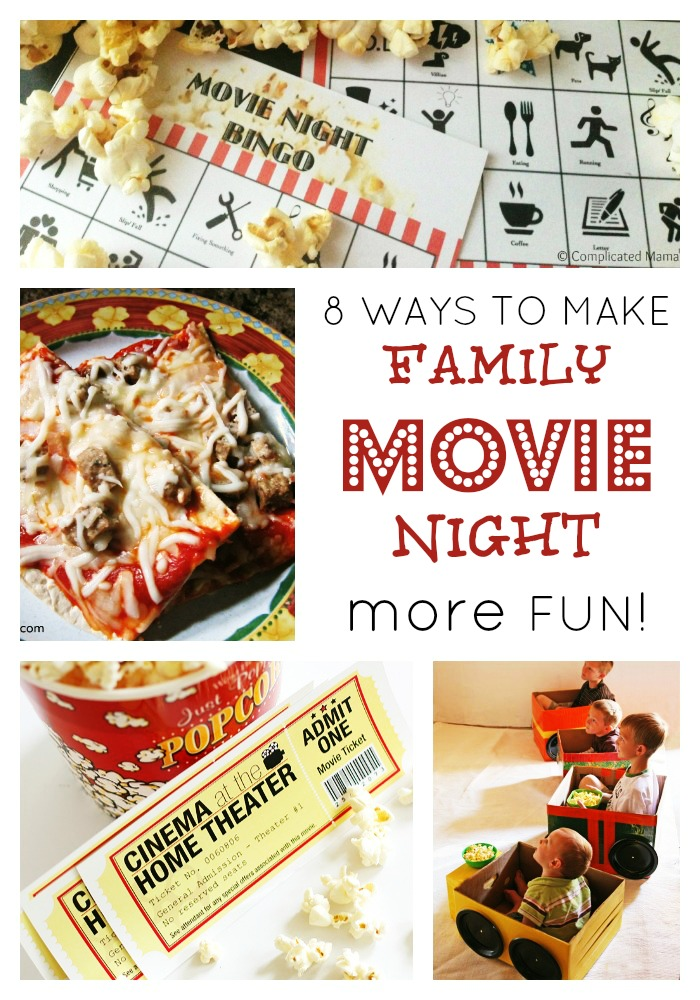 Seriously Fun Ideas For Family Movie Night B Inspired Mama