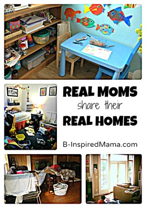 Real Homes from Real Moms - Kid Style at B-InspiredMama.com