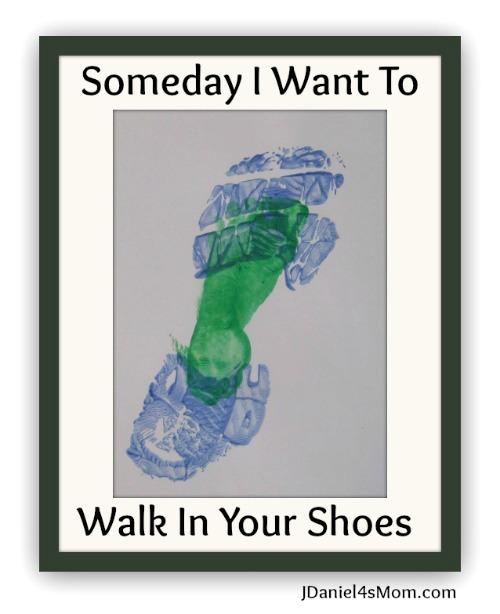 Footprint Preschool Fathers Day Craft from JDaniel4's Mom at B-InspiredMama.com