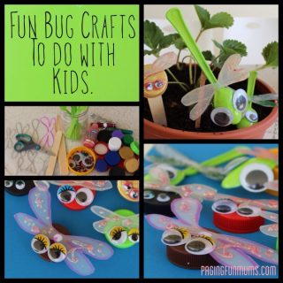 Cute Recycled Bug Crafts [From the Mamas]
