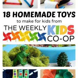 18 Easy Homemade Toys to Make for Kids