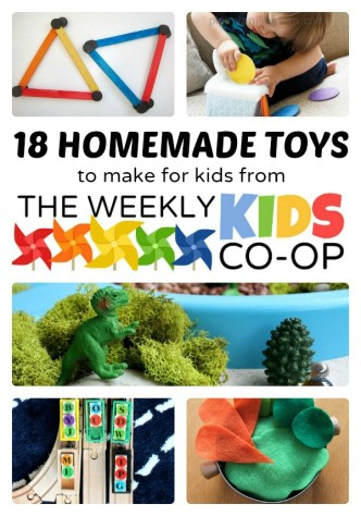 18 Homemade Toys to Make from The Weekly Kids Co-Op