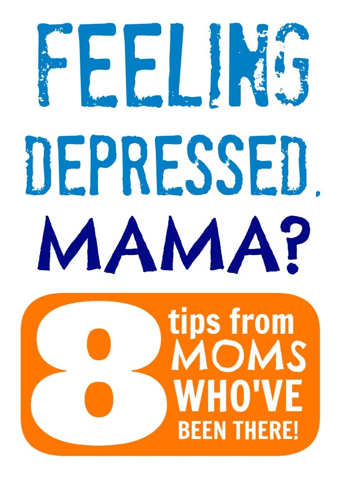 8 Tips for Moms Who Feel Depressed - Sponsored by #Lifescript at B-InspiredMama.com