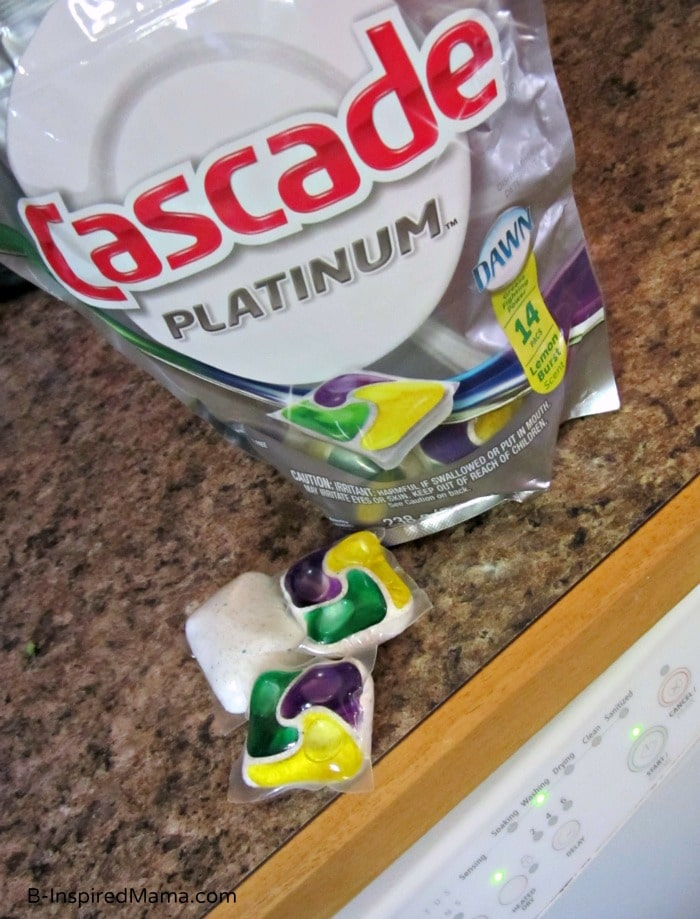 Cascade Platinum Pacs Help Me Keep Dishes Ready for My Picky Eaters at B-InspiredMama.comq