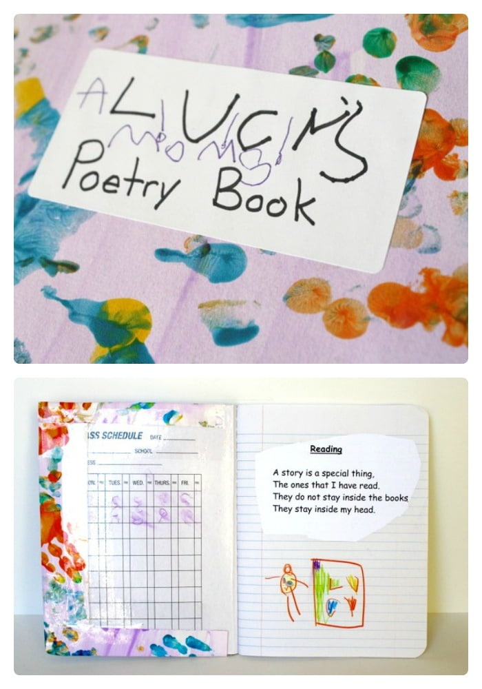 Kids Poetry Journal from Buggy and Buddy at B-InspiredMama.com