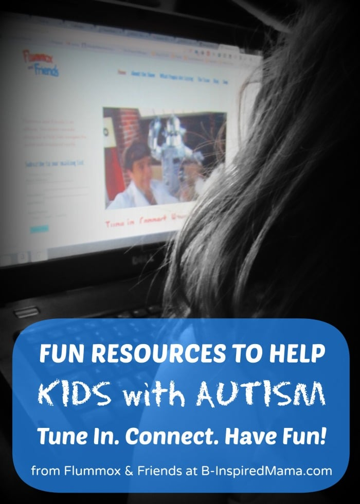 Resources to Help Children with Autism Connect - Sponsored by Flummox and Friends at B-InspiredMama.com