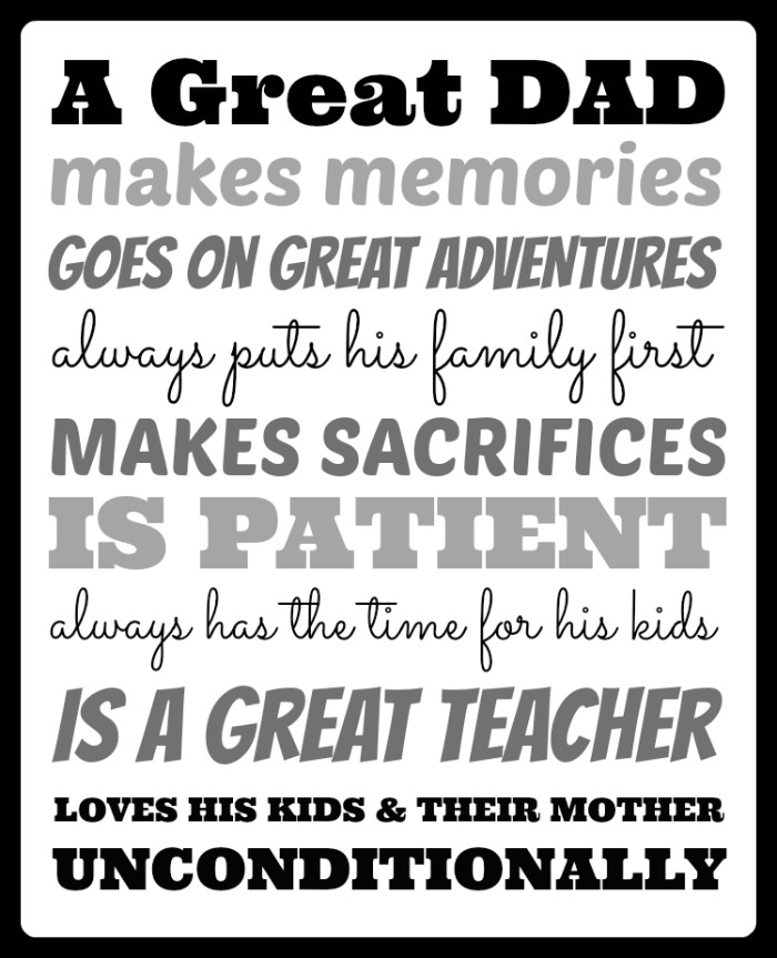 Fathers Day Quotes From Girlfriend To Boyfriend: What Makes A Great Dad?