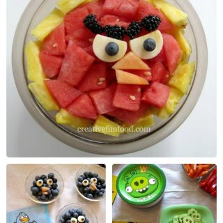 Angry Birds Food Fun [From the Mamas]