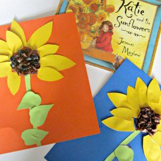 Summer Sunflower Kids Craft Inspired by Art History