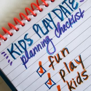 Kids Play Date Planning Checklist [Sponsored by Kleenex #CleanHands] at B-InspiredMama.com
