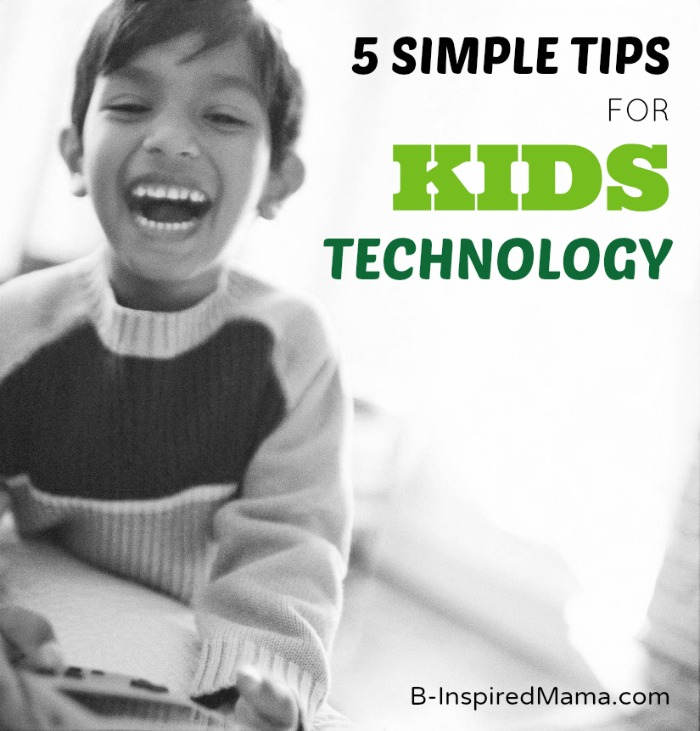 Kids Technology Tips and LeapPad Ultra Sweepstakes - Sponsored by LeapFrog at B-InspiredMama.com