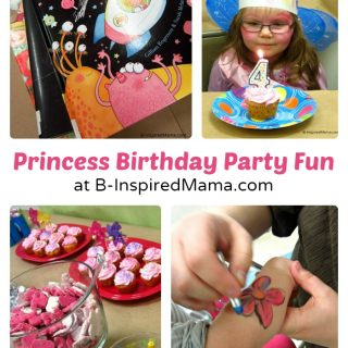 Priscilla's Happy Birthday Princess Party at B-InspiredMama.com