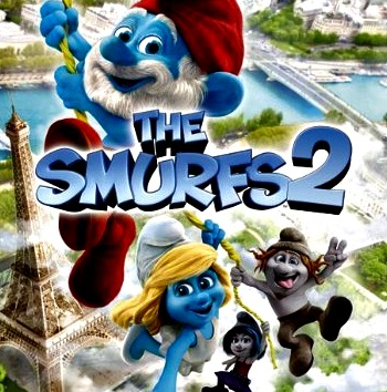 Smurfs 2 Family Video Game from Ubisoft at B-InspiredMama.com