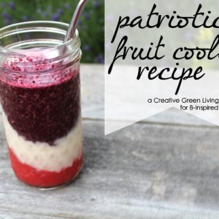Patriotic Fruit Cooler Kids Drinks from Creative Green Living at B-InspiredMama.com