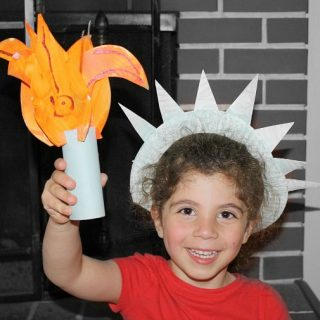 Statue of Liberty Craft for Kids