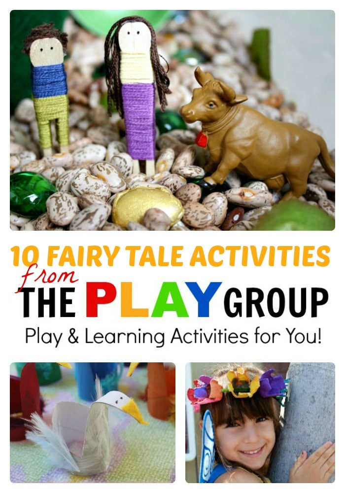 10 fun fairy tale activities from the play group b inspired mama. Black Bedroom Furniture Sets. Home Design Ideas
