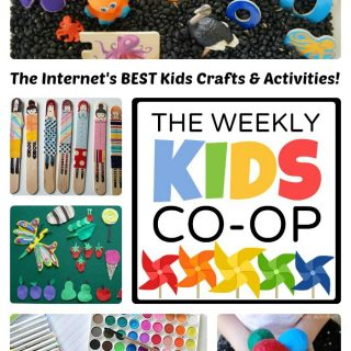 100s of Kids Crafts and Activities from The Weekly Kids Co-Op at B-Inspired Mama