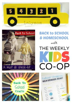 Back to Homeschool and School with The Weekly Kids Co-Op