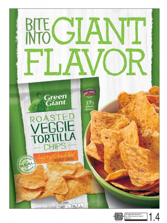 Green Giant Veggie Chips at B-InspiredMama.com