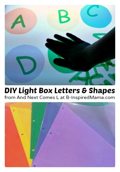Homemade Kids Light Box Manipulatives from And Next Comes L at B-Inspired Mama