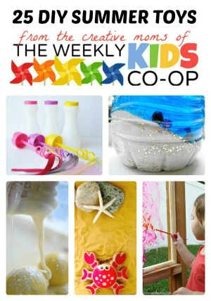 Homemade Kids Toys for Summer Fun at The Weekly Kids Co-Op