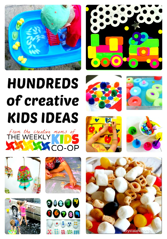 Hundreds Of Creative Kids Activities From The Weekly Kids Co Op B