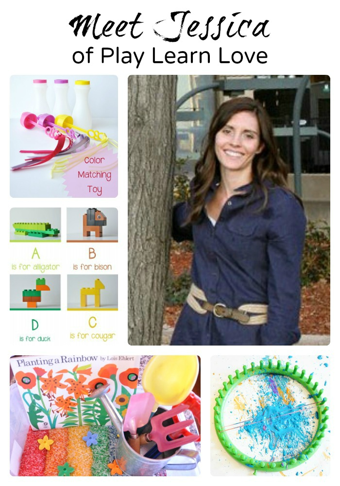 Meet 8 Awesome Mom Bloggers - Jessica of Play Learn Love
