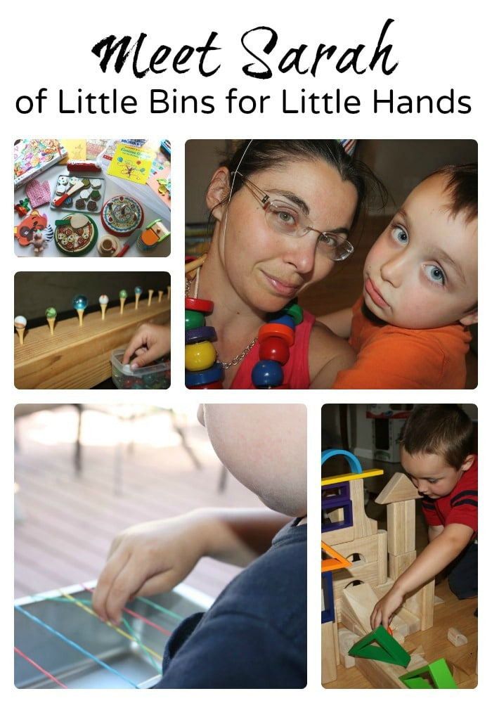 Meet 8 Mom Bloggers - Sarah of Little Bins for Little Hands