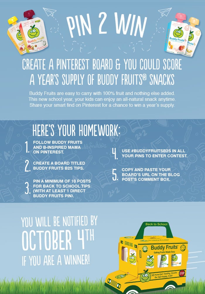 back to school giveaway ideas buddy fruits back to school tips a pin 2 win contest b 5301