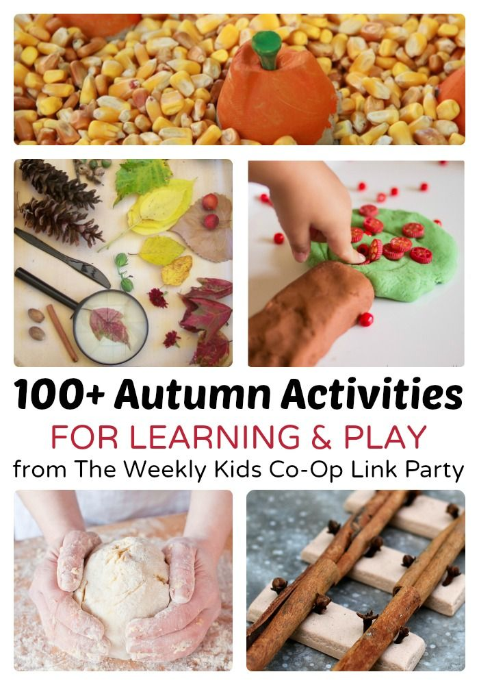 100+ Autumn Activities for Learning and Play at B-Inspired Mama
