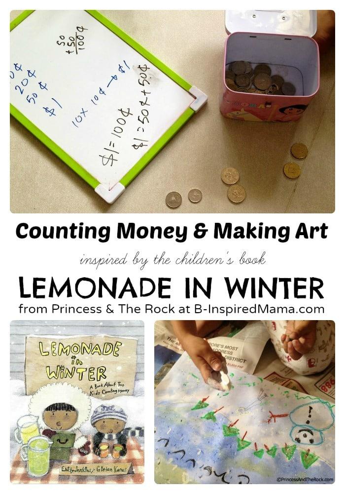 3 Preschool Activities Inspired by Lemonade in Winter