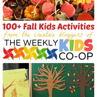 Fall Activities for Kids at The Weekly Kids Co-Op at B-Inspired Mama