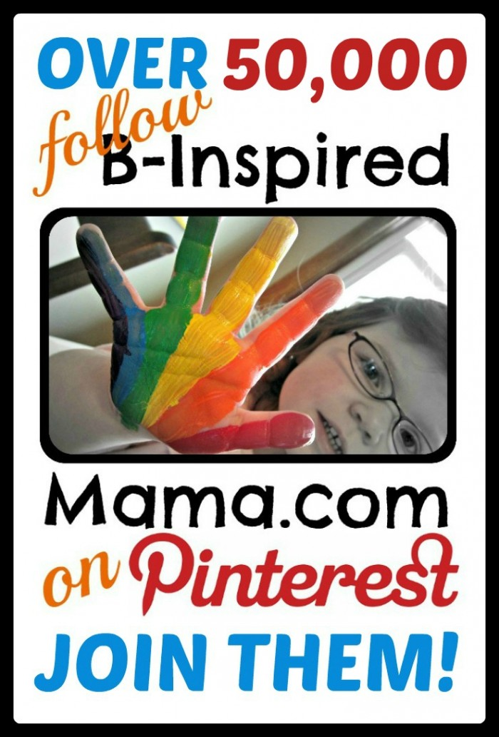 Follow B-Inspired Mama on Pinterest