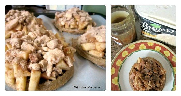 Ice Cream for Pumpkin Apple Crisp Waffle Recipe at B-Inspired Mama