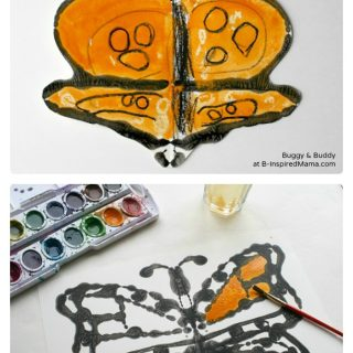 Kids Science and Art Inspired by Monarch Butterflies at B-Inspired Mama