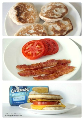 Quick Dinner Ideas and a Tomato Bacon Grilled Cheese Recipe at B-Inspired Mama