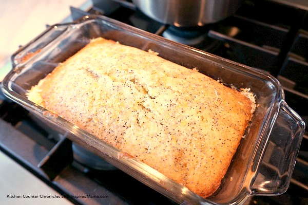 Yummy Lemon Poppy Seed Loaf Kids Snack at B-Inspired Mama