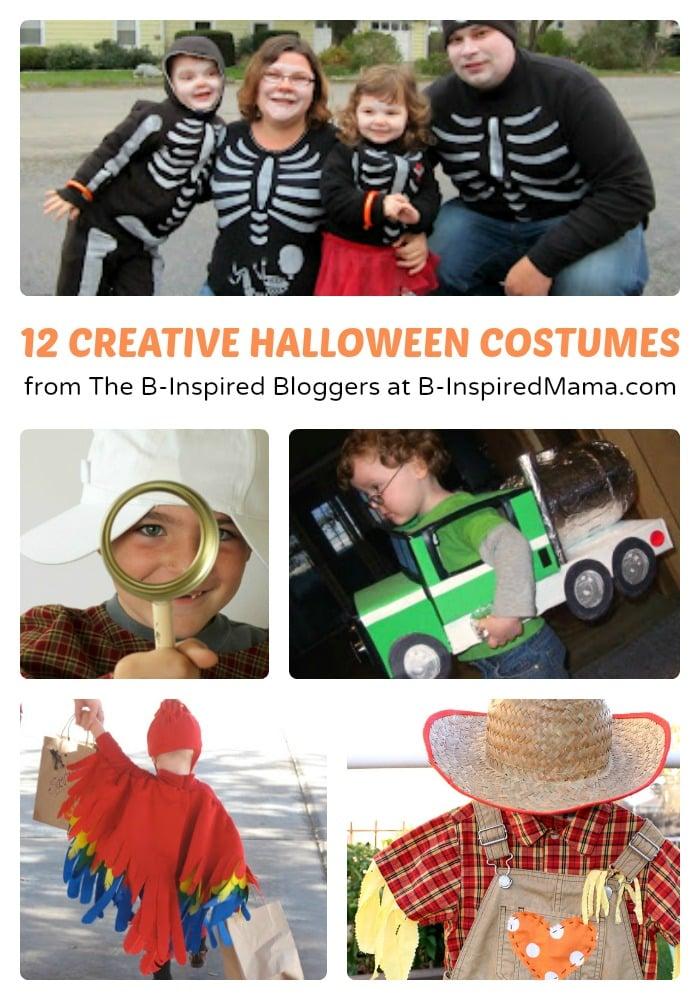 12 Creative Halloween Costumes at B-Inspired Mama
