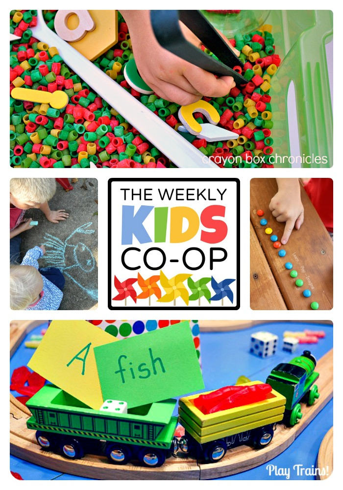 200 Kids Activities from The Weekly Kids Co-Op Link Party at B-Inspired Mama