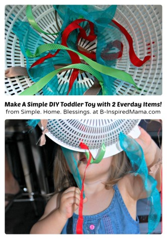 A Simple DIY Toy for Toddlers at B-Inspired Mama
