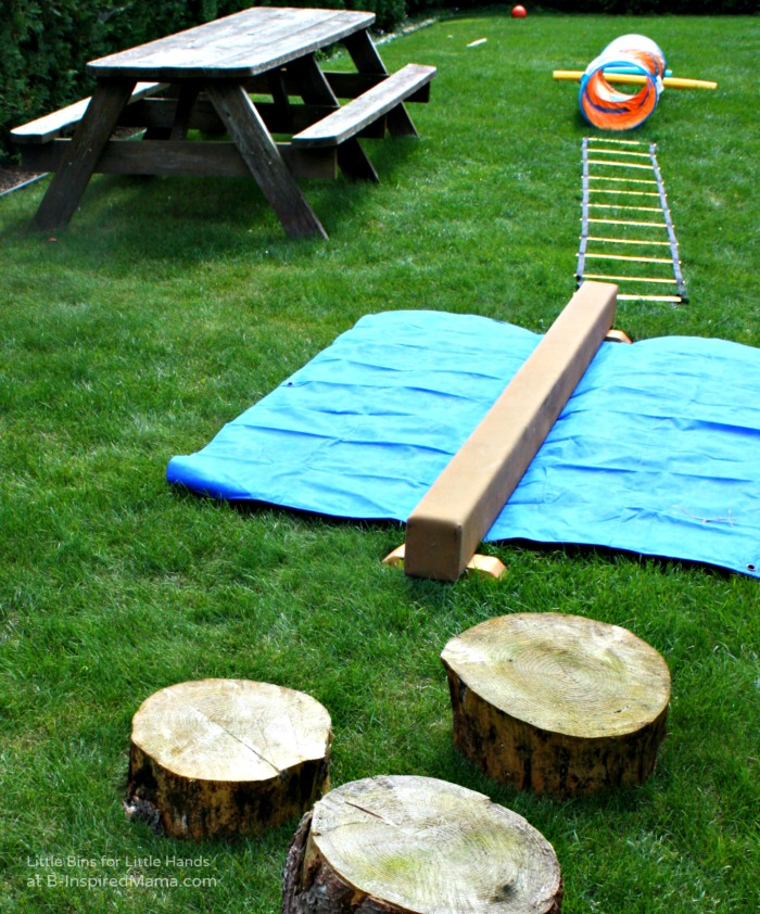obstacle course ideas for kids birthday party an outdoor obstacle