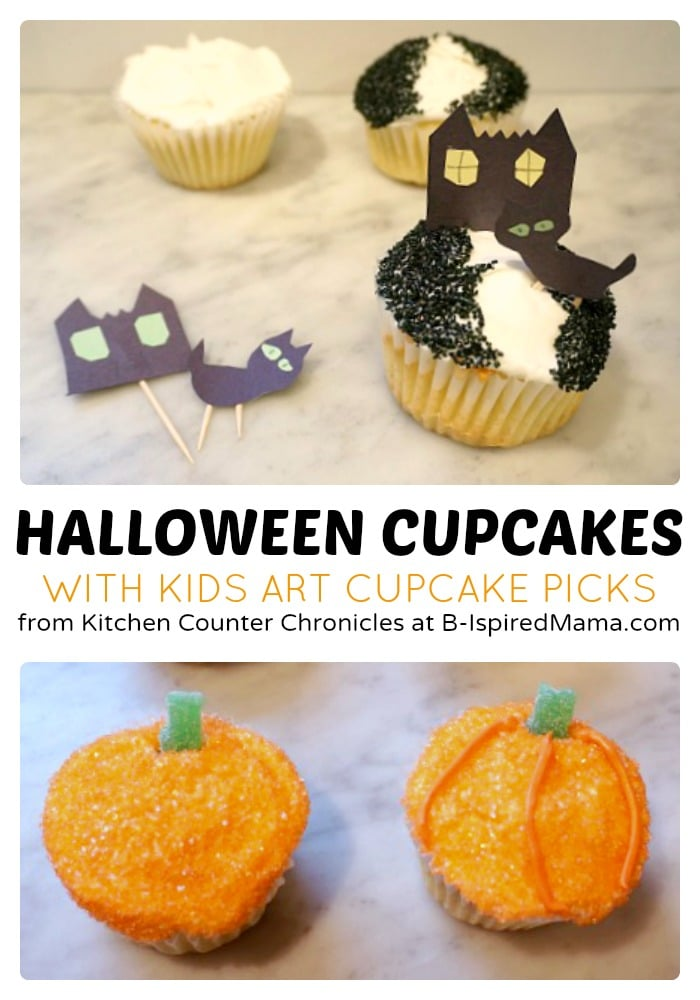 creative kids halloween cupcakes at b inspired mama