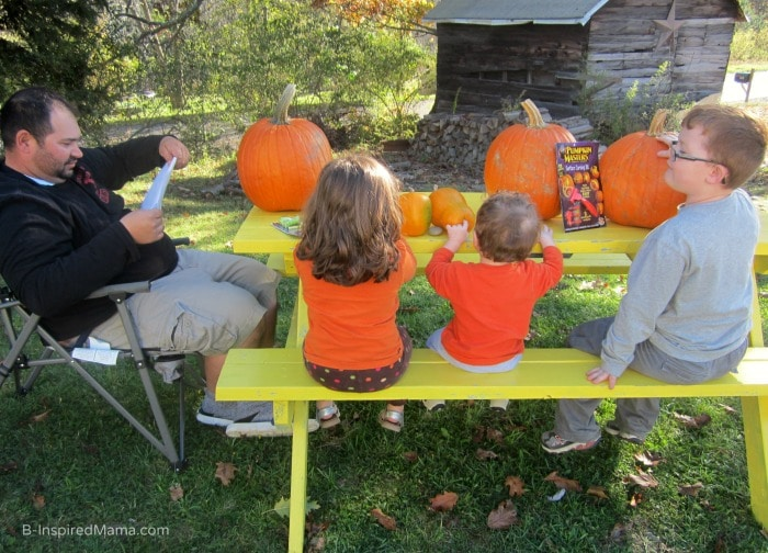Family Pumpkin Carving and Pumpkin Carving Tips for Kids at B-Inspired Mama