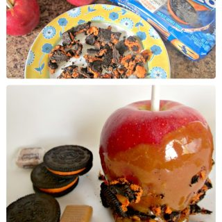Oreo Cookies with the Easiest Caramel Apple Recipe - Sponsored by Werther's Original at B-Inspired Mama