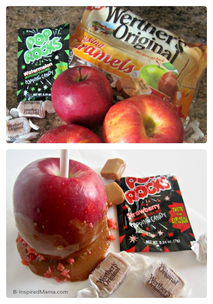 Pop Rocks Caramel Apple Recipe - Sponsored by Werther's Original at B-Inspired Mama