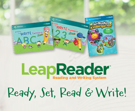 LeapFrog Ready, Set, Read and Write LeapReader Kids Party at B-Inspired Mama