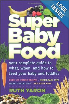 Super Baby Food Book at B-Inspired Mama